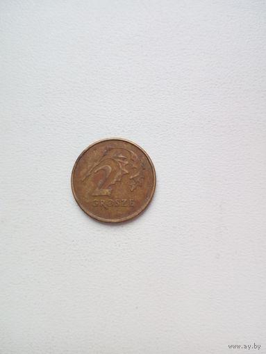 2 гроша 1998г. Польша