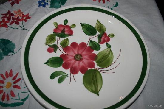 Тарелка ручная роспись авторская Италия