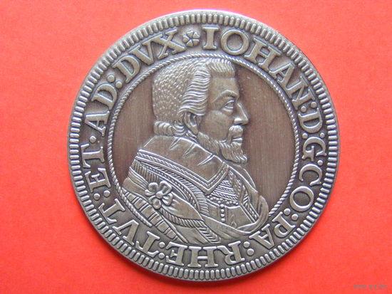 1 талер 1612 года. Официальная копия 1979 года