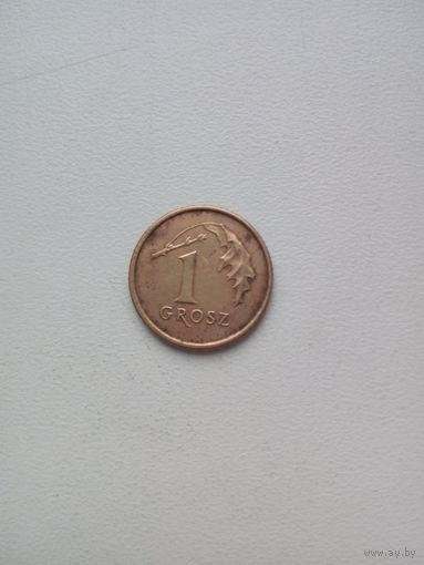 1 грош 1998г. Польша
