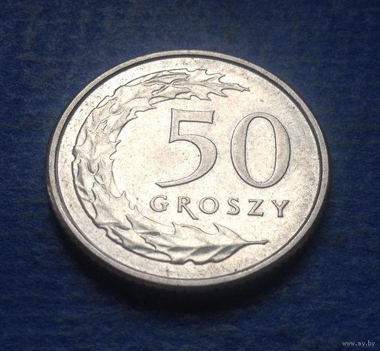 Польша 50 грошей 2017