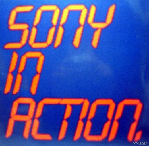 0456. Sony in Action. Half speed test vinyl. 1982. CBS (DE) = 23$