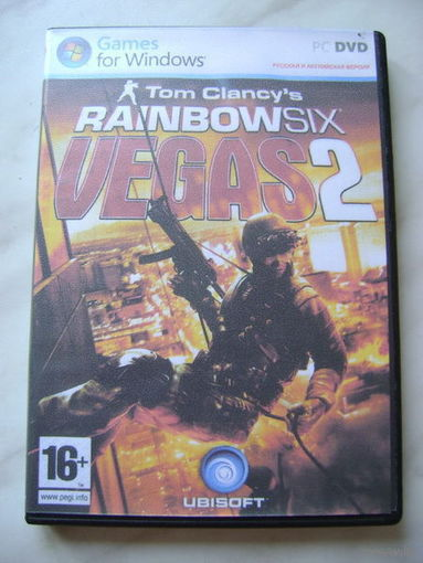 """Tom Clancy's Rainbowsix: Vegas 2"" DVD"