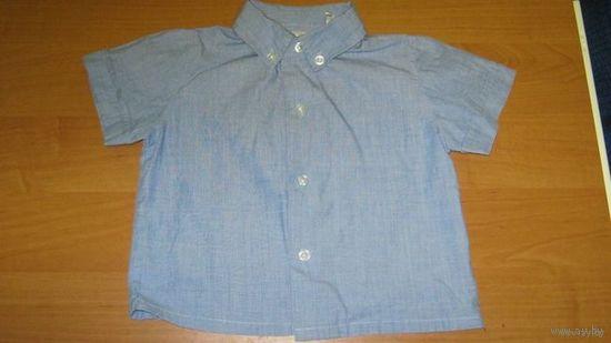 Рубашка д/мальчика, 12 мес.