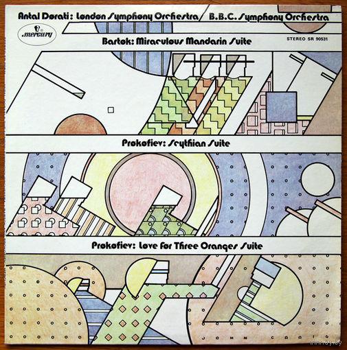 Bartok and Prokofiev. Antal Dorati & The London Symphony Orchestra LP