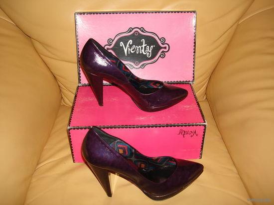 РАСПРОДАЖА!!! СКИДКА 30 %!!! Оригинальные туфли марки VIENTY, Испания