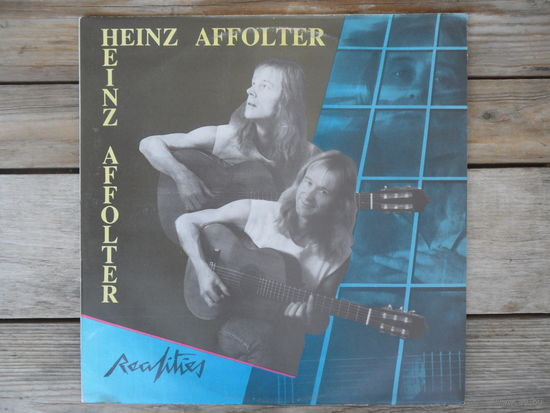 Heinz Affolter - Realities - Partitura, Литва - 1987 г.
