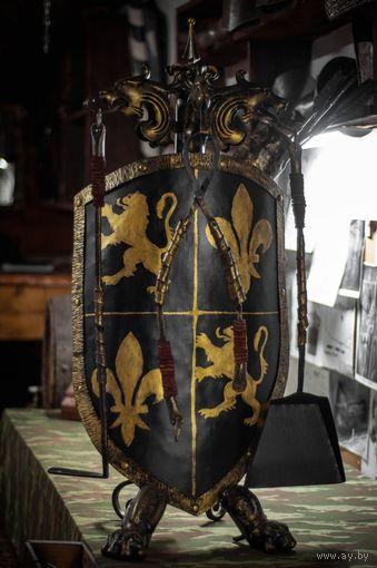 088 Каминный набор Ковка в Рыцарском стиле