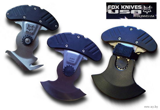 Нож с фиксированным клинком Fox ULU 2LU + Guthook + Saw OF/FKU-2L03BK