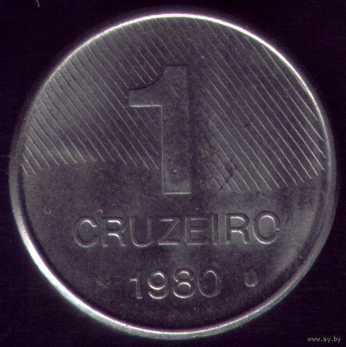 1 Крузейро 1980 год Бразилия