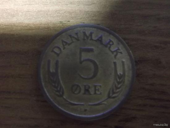 Дания 5 эре 1968