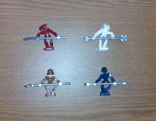 Экшен-фигурка BIONICLE MINI - TOA HORDIKA VAKAMA. LEGO 51637 (Бионикл, робот)