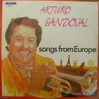LP Arturo Sandoval  - Songs From Europe (1985)