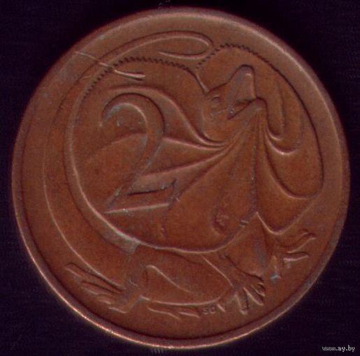 2 цента 1971 год Австралия
