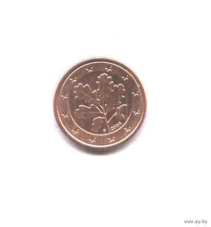 Германия 5 евро центов 2004 г. F   распродажа