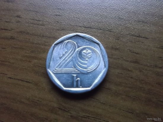 Чехия 20 геллеров 1995