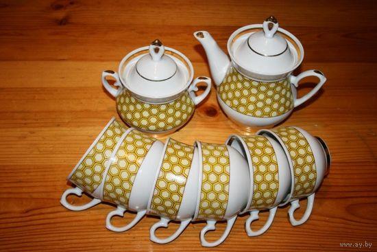 Сервиз чайный на 6-ть персон