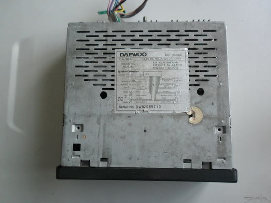 Автомагнитола DAEWOO AKR-1020 нерабочая