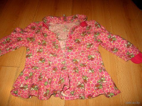 Платье байковое
