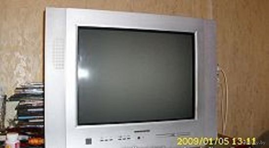 Телевизор горизонт 21KF19 видео двойка .нужен ремонт т