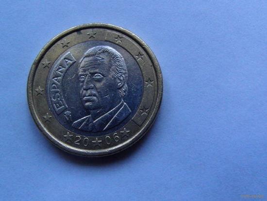 Испания 1 евро 2006г.  распродажа
