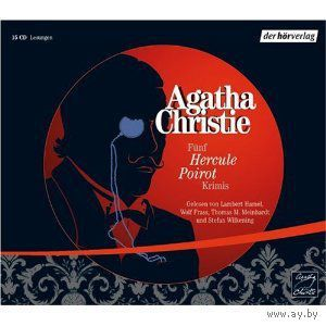 5 Hercule-Poirot-Krimis [Audiobook] (Audio CD)
