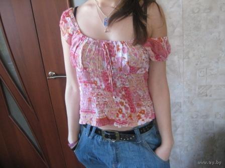 Оригинальная  блуза р.48
