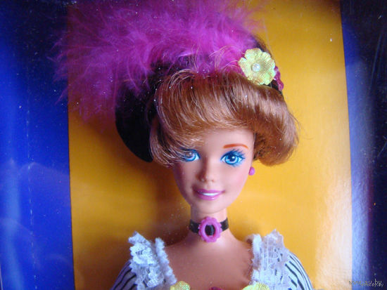 "Новая кукла Барби из серии ""Куклы мира""/Dolls of the world French Barbie/ 1996"