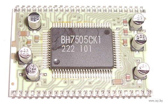 Плата от автомагнитолы на BH7505CK1.