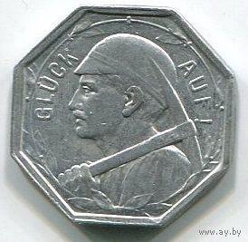 Ng ВАТТЕНШАЙД - 25 ПФЕННИГОВ 1920