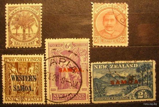 Британские колонии. Самоа. Лот 74.