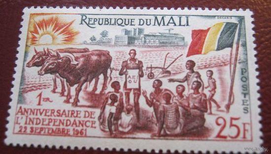 Мали, 1 год независимости, скидка