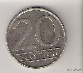 Польша, 20 zlotych, 1985г