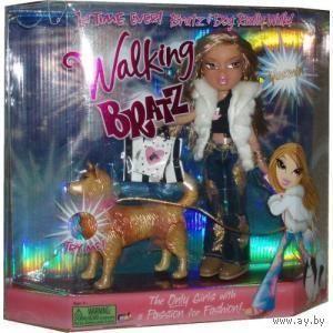 Новая кукла Братц/Bratz, Жасмин с собачкой, Yasmin Walking Bratz. Жасмин и ее собака теперь действительно ходят.