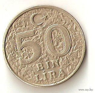Турция 50 тысяч лир 2000г.   распродажа