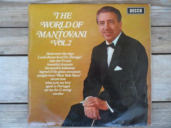 Mantovani and his orchestra - The World of Mantovani, vol. 2 - Decca, Англия