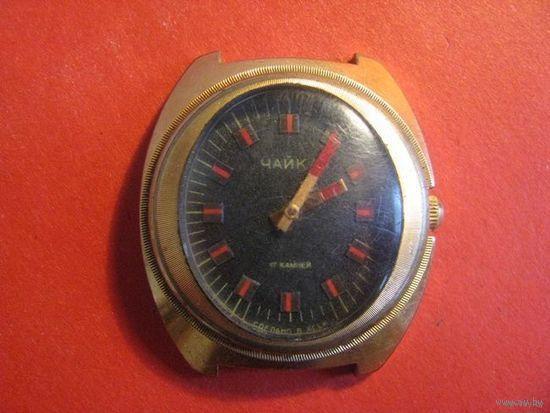 Часы, СССР, Чайка, Б/У, позолота.