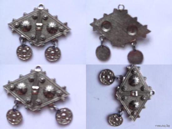 Кулон металлический под старину.  распродажа