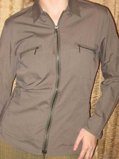 Рубашка женская защитного цвета