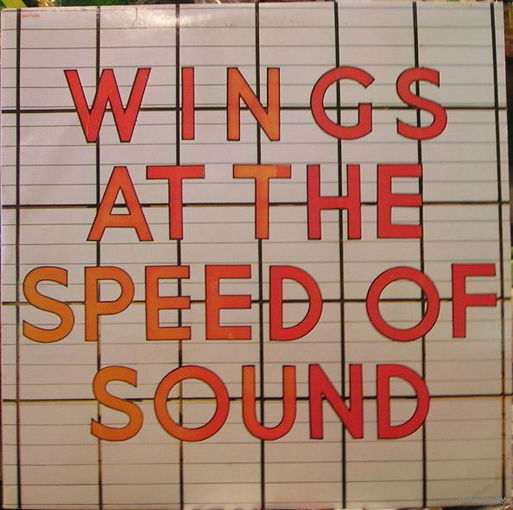 Wings - At The Speed Of Sound - LP - 1976