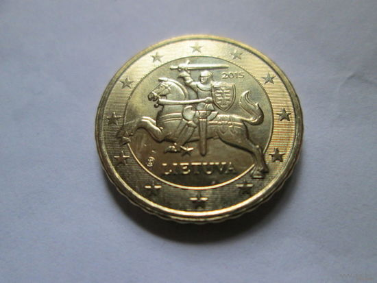 10 евроцентов, Литва 2015 г., AU