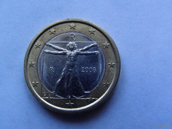 Италия 1 евро 2008г. распродажа