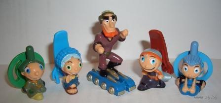 Сноубордисты (киндер)