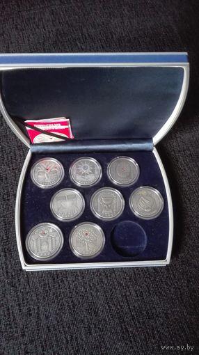Комплект праздников 8 монет Беларусь!!!
