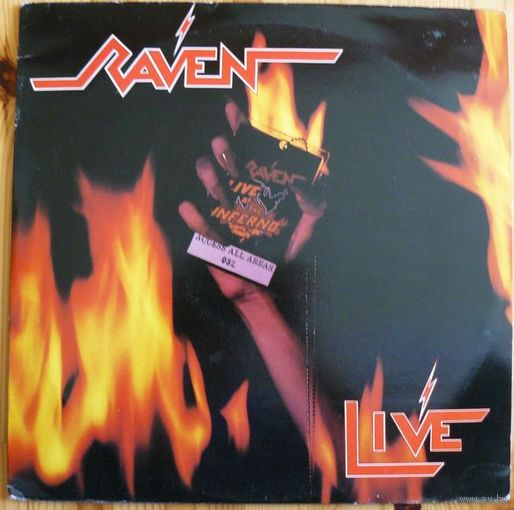 Винил Raven - Live At The Inferno  2LP