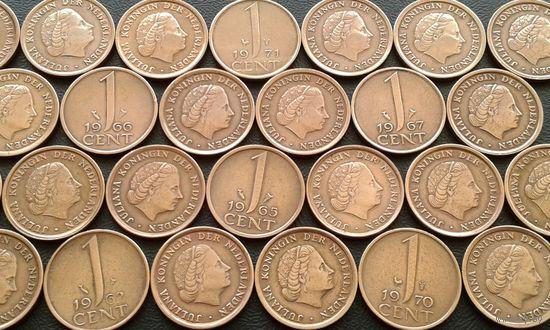 Нидерланды. 20 монет - одним лотом.