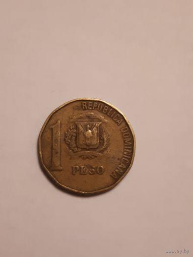 1 песо 1991г.