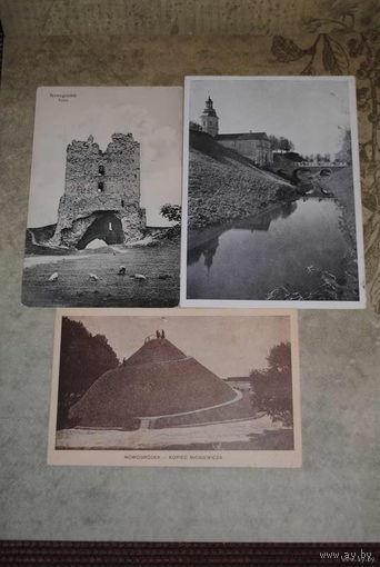 """Сборная серия старинных открыток, по теме: """"Города Беларуси"""" -No2- моя коллекция до 1917 года - антикварная редкость - цена за всё, что на фото, по отдельности пока не продаю-!"""