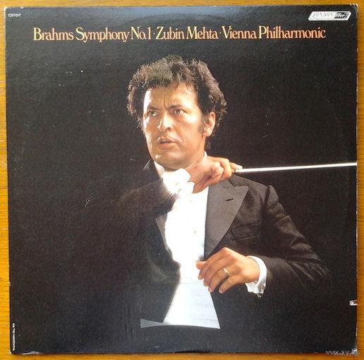 Brahms. Symphony No.1 - Zubin Mehta - Vienna Philharmonic, LP 1979
