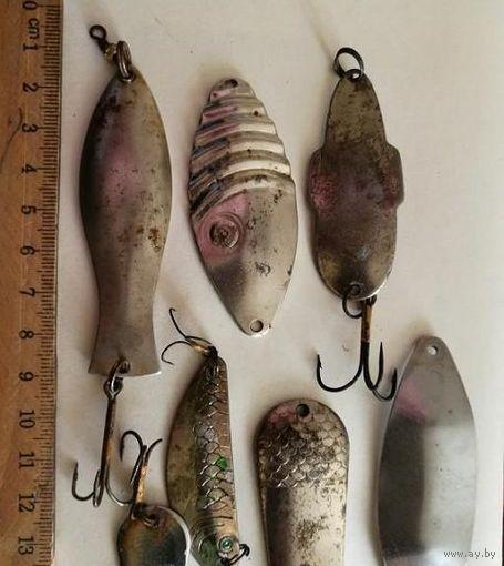 Блесна для рыбалки колебалки ссср